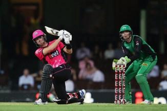 Joe Denly 72 Sydney Sixers Melbourne Stars BBL cricket