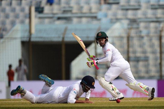 Mushfiqur Rahim 92 Bangladesh Sri Lanka 1st Test Day 1 cricket
