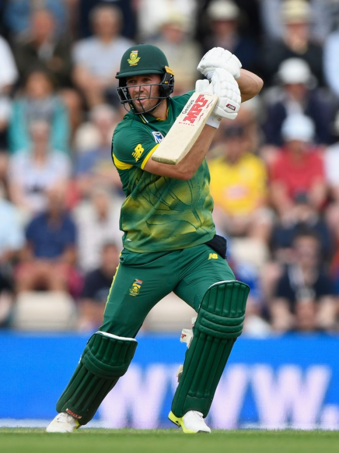AB de Villiers ruled out first three ODIs India South Africa cricket