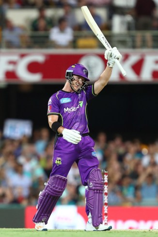 D'Arcy Short 122 Hobart Hurricanes Brisbane Heat BBL cricket