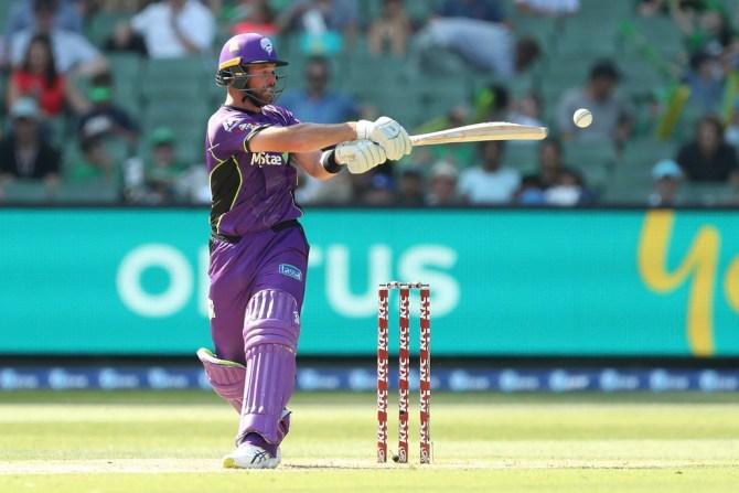 Dan Christian 56 Melbourne Stars Hobart Hurricanes BBL cricket