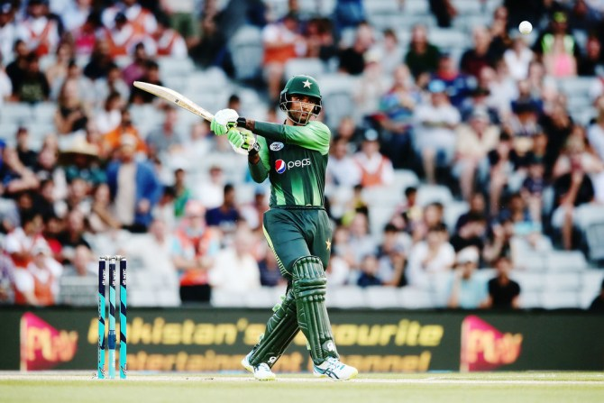 Fakhar Zaman 50 New Zealand Pakistan 2nd T20 Auckland cricket