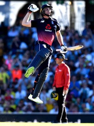 Jos Buttler 100 Australia England 3rd ODI Sydney cricket