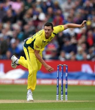 Josh Hazlewood virus miss 2nd ODI Australia England cricket