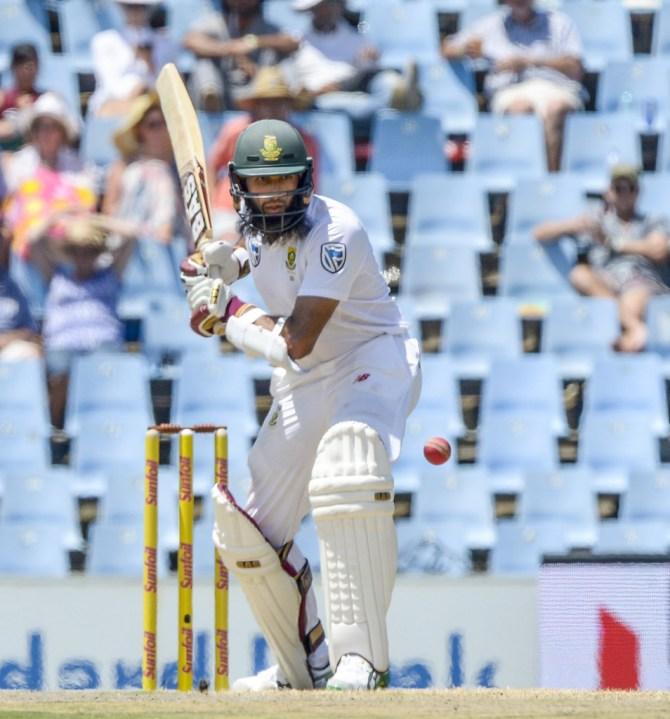 Hashim Amla 82 South Africa India cricket