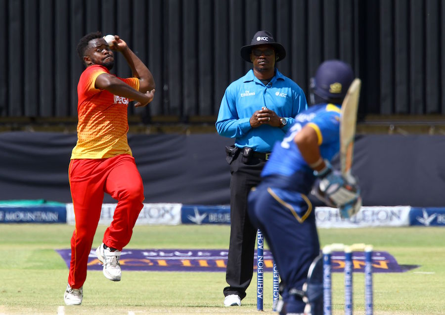 Afghanistan beat Zimbabwe by 5 wickets in 1st T20 - full cricket score