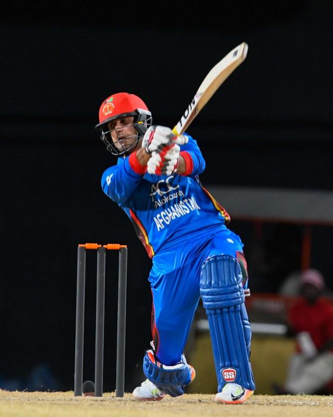 Mohammad Nabi 40 Afghanistan Zimbabwe 1st T20 International Sharjah cricket
