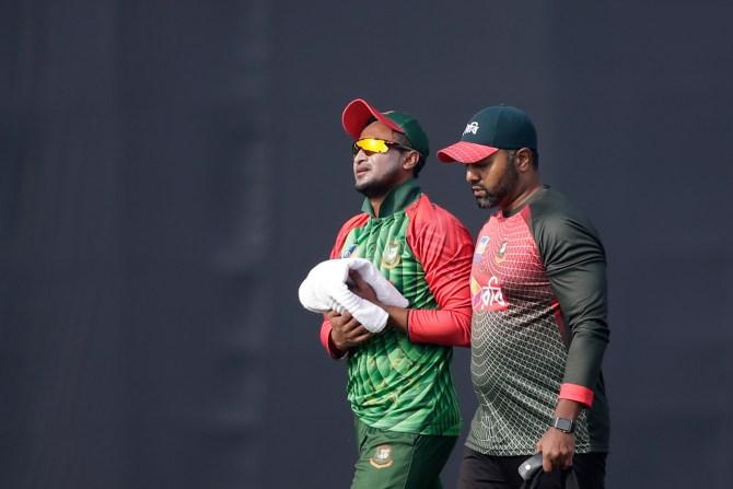 Shakib Al Hasan miss first T20 International Bangladesh Sri Lanka cricket
