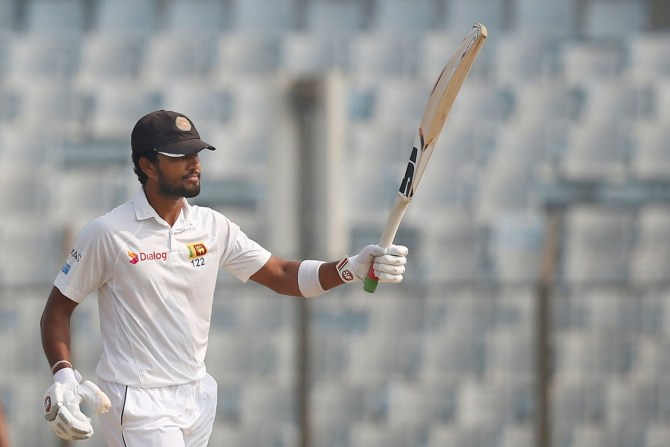 Dinesh Chandimal 87 Bangladesh Sri Lanka 1st Test Day 4 Chittagong cricket