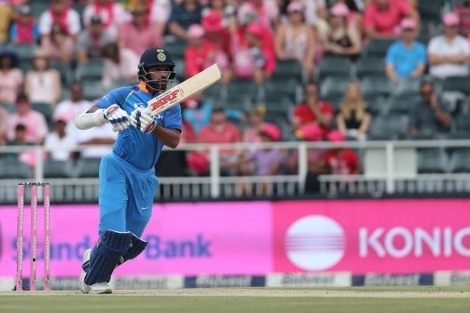 Shikhar Dhawan 109 South Africa India 4th ODI Johannesburg cricket