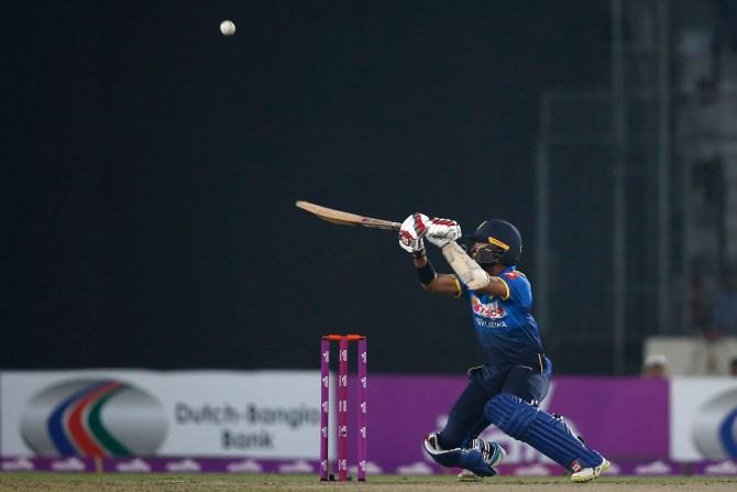 Kusal Mendis 53 Bangladesh Sri Lanka 1st T20 Dhaka cricket