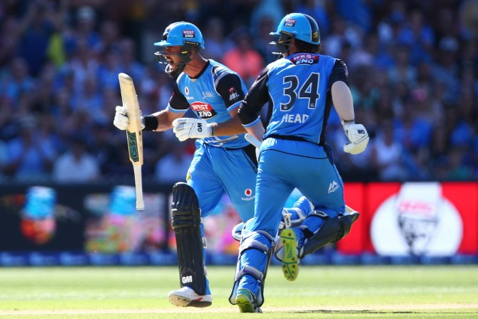 Jake Weatherald 115 Adelaide Strikers Hobart Hurricanes BBL final cricket
