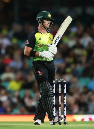 D'Arcy Short open batting David Warner T20 tri-series Australia cricket