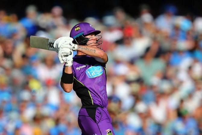 D'Arcy Short 68 Adelaide Strikers Hobart Hurricanes BBL final cricket
