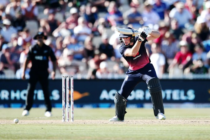 Jos Buttler 79 New Zealand England 1st ODI Hamilton cricket