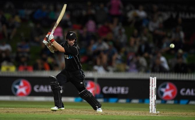 Tom Latham 79 New Zealand England 1st ODI Hamilton cricket