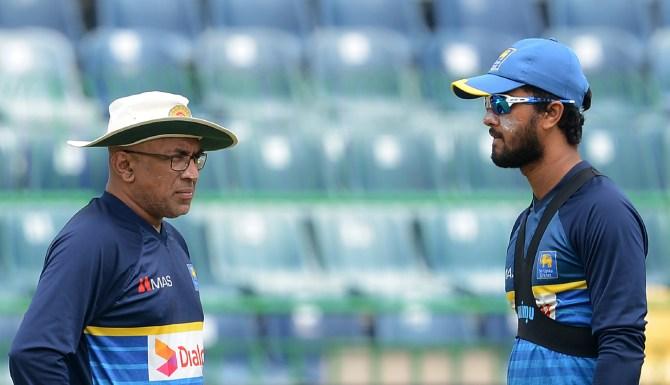 Dinesh Chandimal two-match ban over-rate offence Sri Lanka India Bangladesh Nidahas Trophy cricket