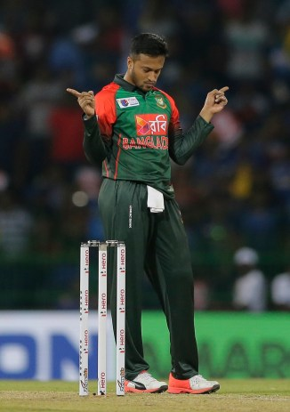 Shakib Al Hasan fined 25 percent match fee demerit point Bangladesh Sri Lanka Nidahas Trophy cricket
