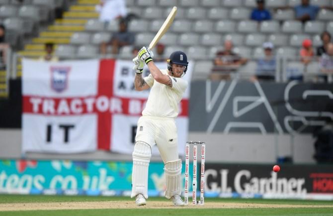 Ben Stokes 66 New Zealand England 1st Test Day 5 Auckland cricket