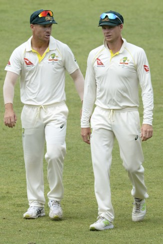 Stuart Clark David Warner stripped vice-captaincy suspended South Africa Australia Test series cricket