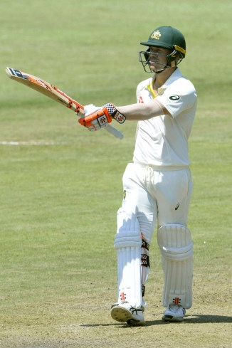 David Warner fined 75 percent match fee three demerit points cleared 2nd Test South Africa Australia cricket