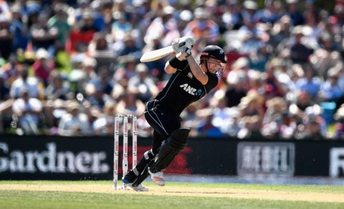Henry Nicholls 55 New Zealand England 5th ODI Christchurch cricket