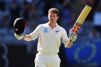 Henry Nicholls 145 not out New Zealand England 1st Test Day 4 Auckland cricket