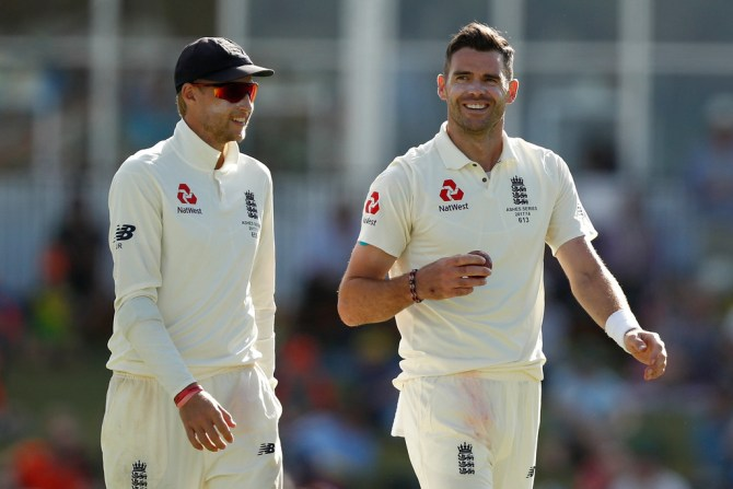 James Anderson vice-captain England New Zealand Test series cricket