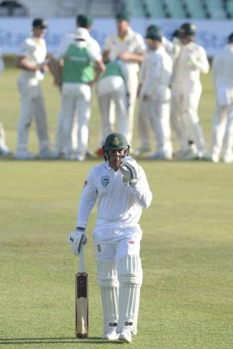 Quinton de Kock fined 25 percent match fee one demerit point South Africa Australia cricket