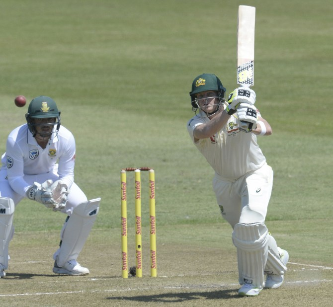 Steve Smith 56 South Africa Australia 1st Test Day 1 Durban cricket