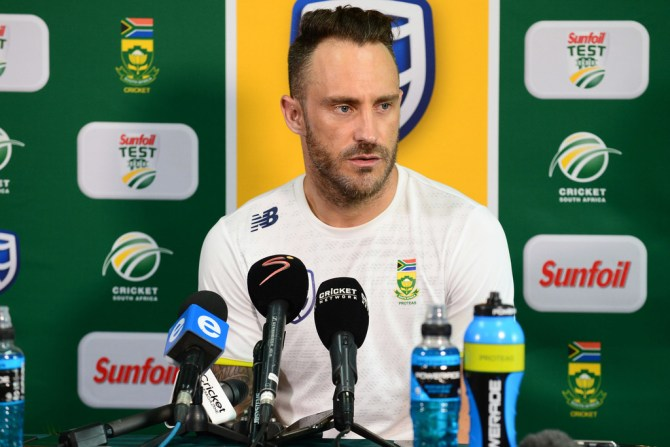 Faf du Plessis defends Quinton de Kock David Warner altercation South Africa Australia Test series cricket