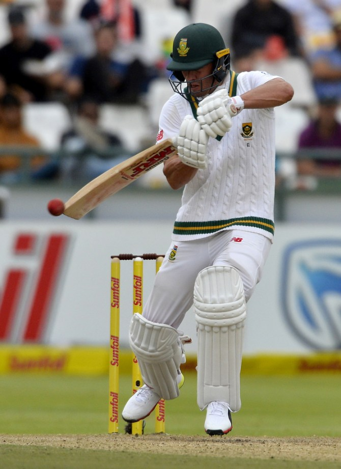 AB de Villiers 51 not out South Africa Australia 3rd Test Day 3 Cape Town cricket