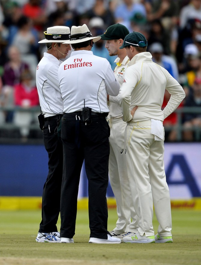 Cameron Bancroft Steve Smith admit ball tampering South Africa Australia 3rd Test Day 3 Cape Town cricket