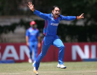 Rashid Khan Anil Kumble Shahid Afridi cricket idols Afghanistan India Pakistan