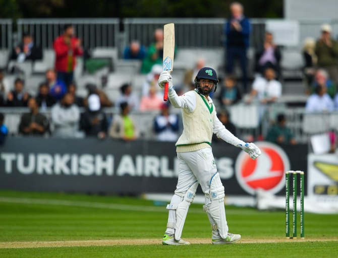 Stuart Thompson 53 Ireland Pakistan Only Test Day 4 Dublin cricket