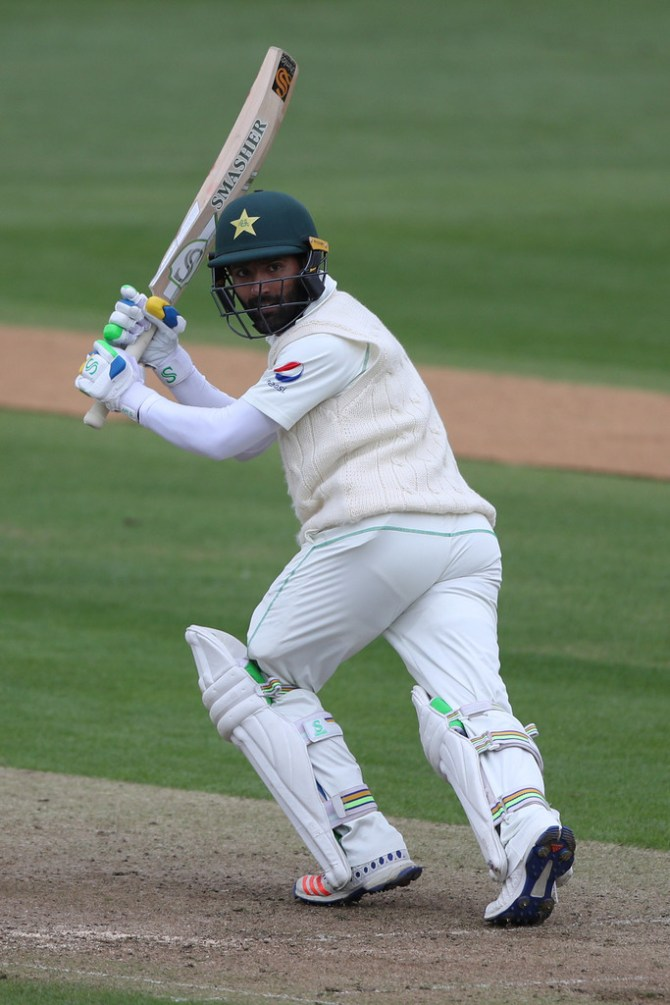 Sarfraz Ahmed Babar Azam not playing natural game Test cricket weakness Pakistan cricket