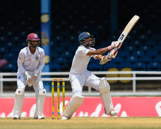 Dinesh Chandimal 119 not out West Indies Sri Lanka 2nd Test Day 1 St Lucia cricket