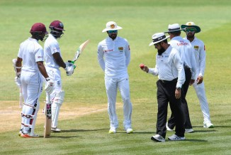 Dinesh Chandimal banned 3rd Test West Indies Barbados guilty ball tampering Sri Lanka cricket