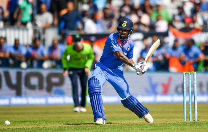 Shikhar Dhawan 74 Ireland India 1st T20 Dublin cricket