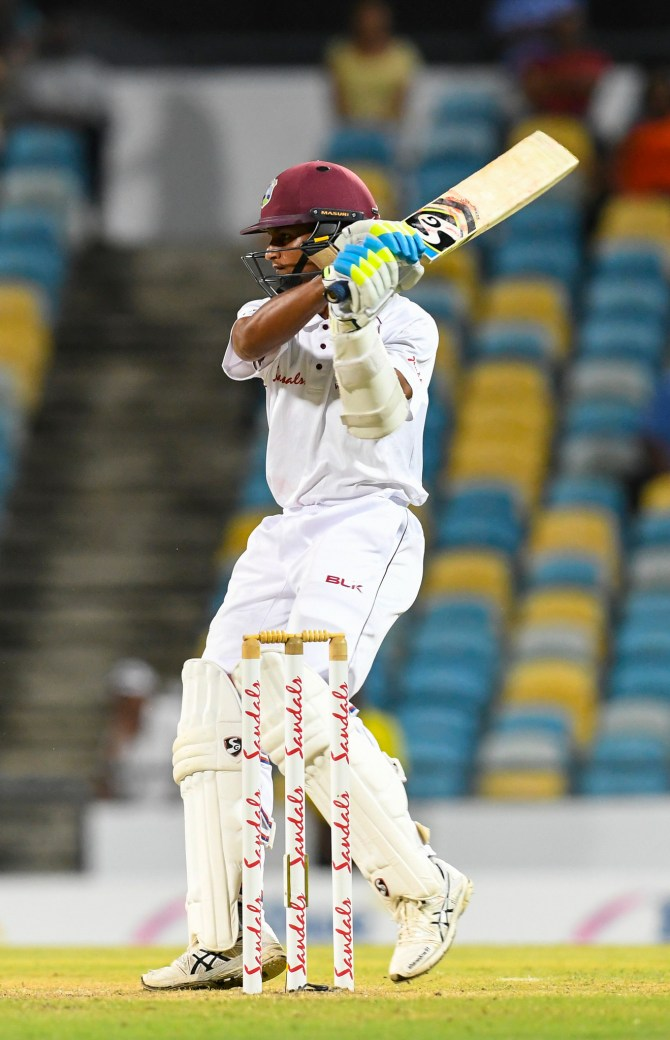 Shane Dowrich 60 not out West Indies Sri Lanka 3rd Test Day 1 Barbados cricket