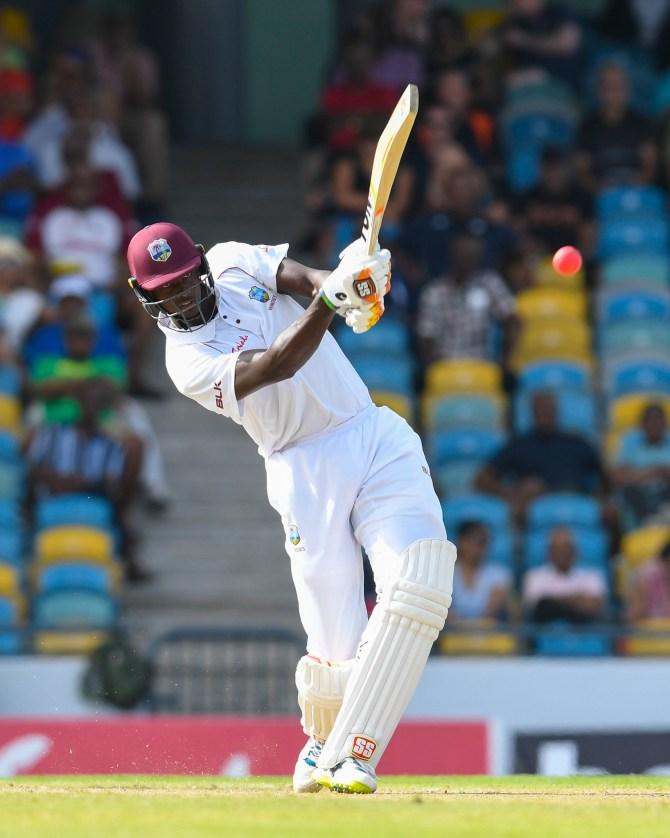Jason Holder 74 West Indies Sri Lanka 3rd Test Day 2 Barbados cricket