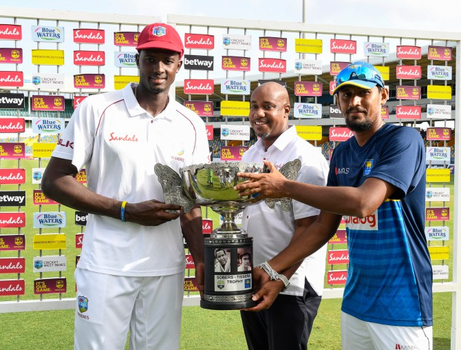 Sri Lanka win by four wicket 3rd Test Day 4 Barbados cricket