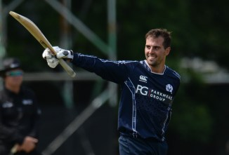 Calum MacLeod 140 not out Scotland England Only ODI Edinburgh cricket