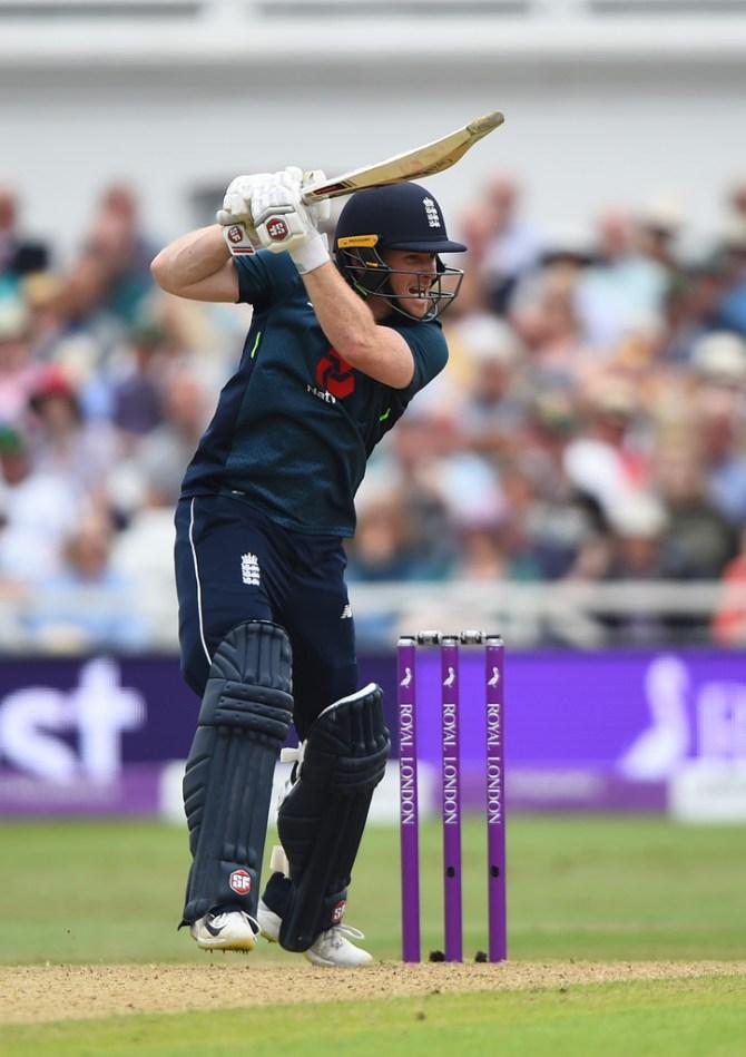 Eoin Morgan 67 England Australia 3rd ODI Nottingham cricket