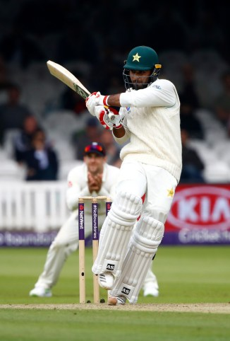 Faheem Ashraf working on defence and leaving the ball Pakistan England cricket