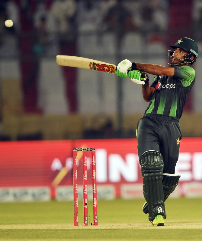Fakhar Zaman 61 Zimbabwe Pakistan T20 tri-series Harare cricket