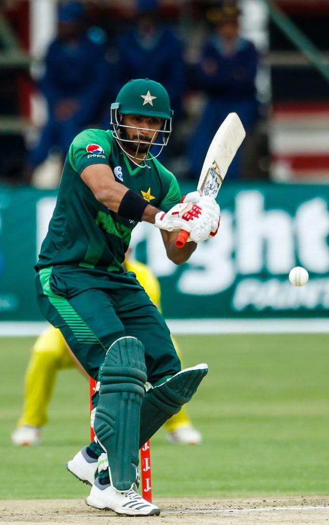 Fakhar Zaman 73 Pakistan Australia T20 tri-series 5th Match Harare cricket