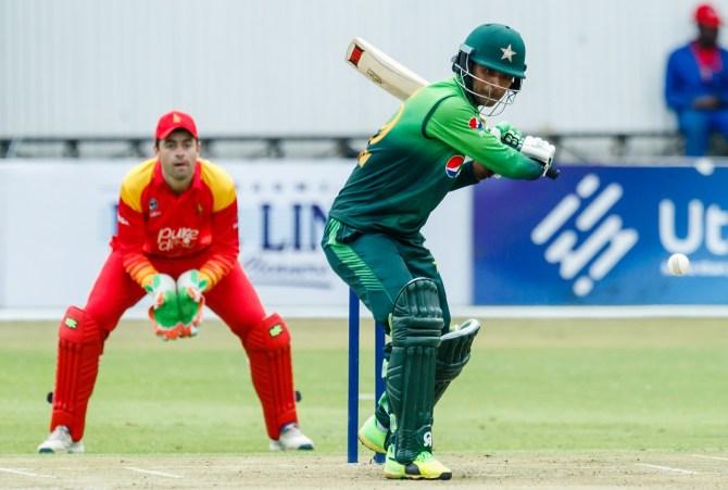Fakhar Zaman 60 Zimbabwe Pakistan 1st ODI Bulawayo cricket