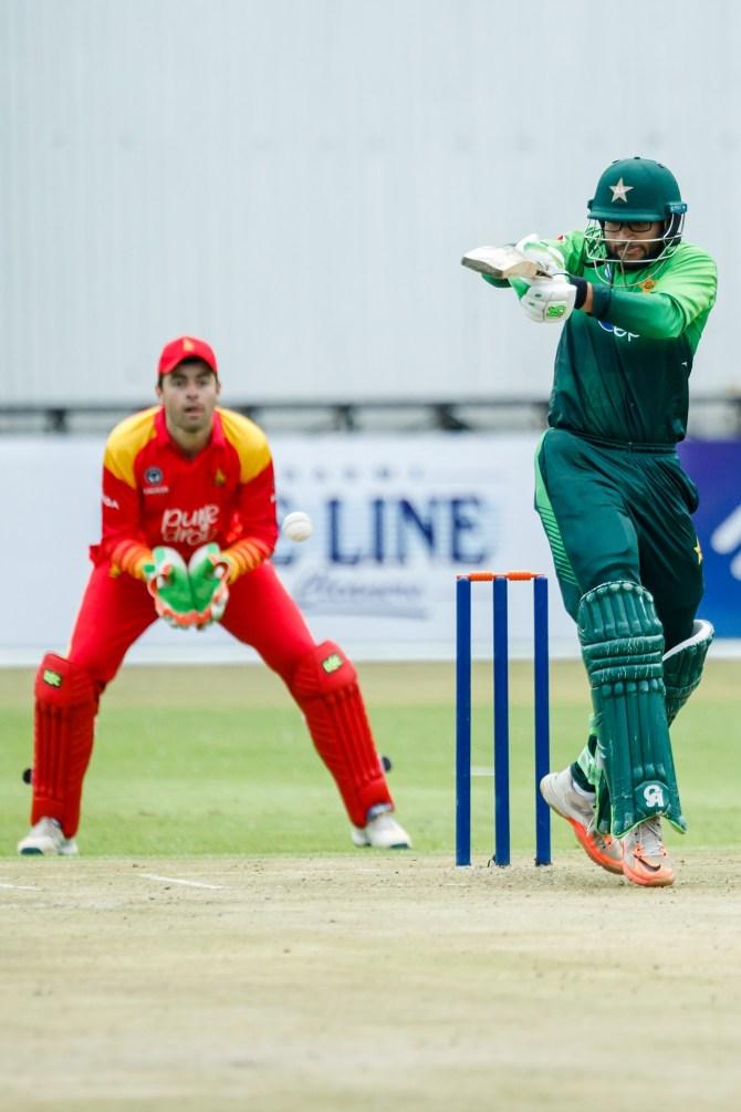 Imam-ul-Haq 113 Zimbabwe Pakistan 4th ODI Bulawayo cricket