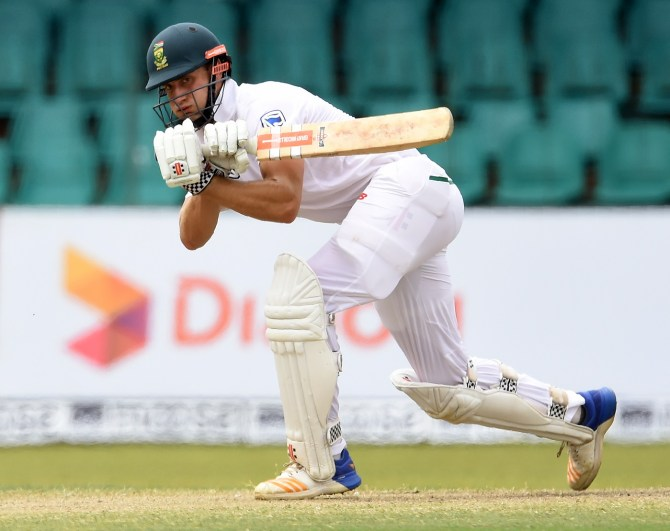Theunis de Bruyn 101 Sri Lanka South Africa 2nd Test Day 4 Colombo cricket
